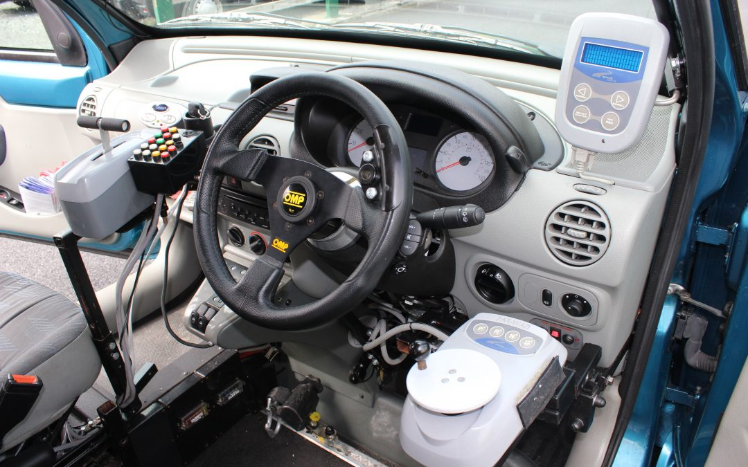 New Hi-Tech vehicle is a boost for drivers with physical disabilities