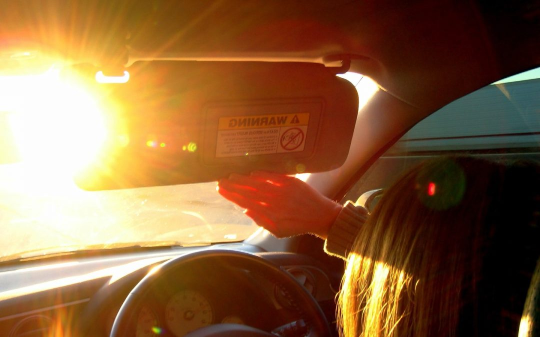 What to do When Driving with Sun Glare