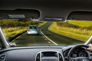 Clean Windscreen and Safe Driving