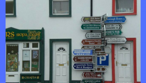 funny road signs in ireland 9