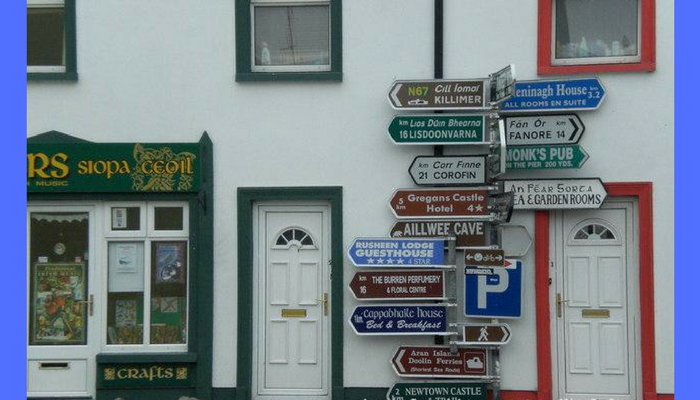 Funny Road Signs And Situations You Can Find In Ireland