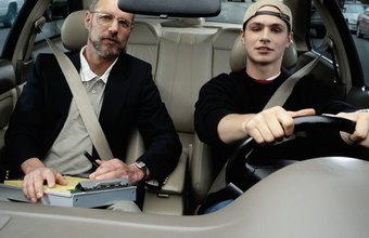 What are the major mistakes in driving test?