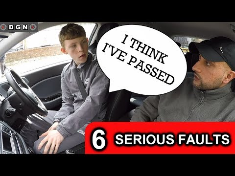 When You Fail Your Driving Test, what To Do.